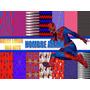 Kit Fondos Mas Imagenes, Patrones,hombre Araña, Spiderman!!