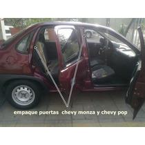 Hules Puertasy Cajuela Chevy Monza Y Chevy Pop