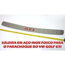 Soleira Em Aço Inox Para O Parachoque Do Golf Gti