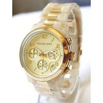 Relógio Michael Kors Mk5139 Madrepérola Com Caixa
