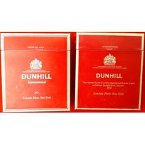 Dunhill - Lote 2 Ediciones - Marquillas Cajas Cigarrillos