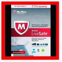 Antivirus Mcafee Livesafe 1 Año Muldispositivos Reinstalable