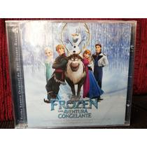 Cd Frozen - Uma Aventura Congelante - Lacrado