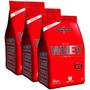 Combo 3x Nutri Whey Integralmédica 907g- Chocolate