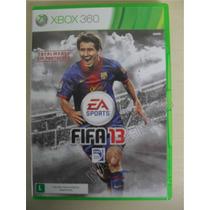 Fifa 13 Totalmente Em Português Completo - Original Xbox 360