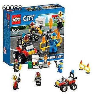 Juego Ingenio Lego City Fire Starter Set 60088 2 733 54 En