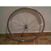 Par De Rines De Acero Para Bicicleta Rodada 26 Y 144 Rayos