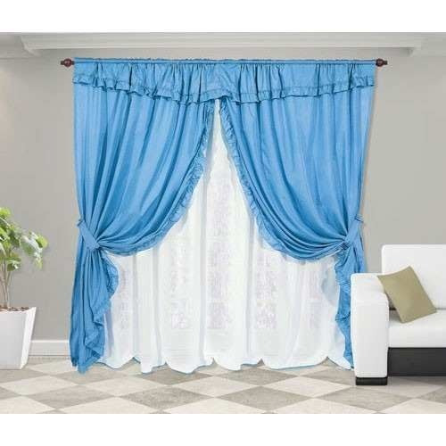 juego de cortinas para dormitorio living comedor listas