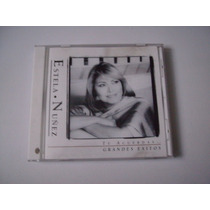 Estela Núñez Cd Te Acuerdas...grandes Éxitos Sony Music 1999