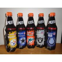 5 Botellas De Pepsi Serie Completa Del 2011 Vacias