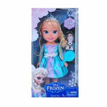 Muñeca Frozen Anna O Elsa Con Patines O Con Olaf