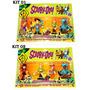 Scooby Doo Roupas De Piratas - Kit Com 04 Bonecos Articulado