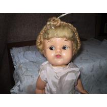 Muñeca Marca Imos De Plástico Duro Ojos Móviles