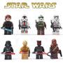 Lego Star Wars Darth Vader C3po Chewbacca Anaquim Sith