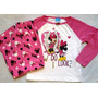 Minnie Mouse Pijama Pantalon Nina Import Original