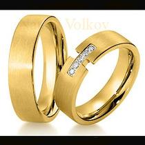 Argollas De Matrimonio Mod. Siluett En Oro 14k Matrimoniales