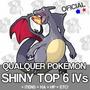 Pokemon 3ds Y X Omega Shiny 5/6iv Promoçâo + Brinde