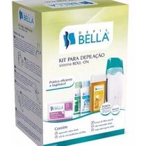 Kit Depilação Roll-on Bivolt Depil Bella + Frete + 4 Brindes