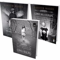 Kit Orfanato Srta Peregrine Crianças Peculiares (3 Livros) #