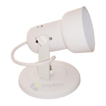 3 X Spot Arandela Runas Branco P\ 1 Lâmpada Luminária Plafon