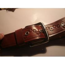Cinturon Artesanal En Cuero 100% Original. A Tu Medida