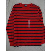 Camiseta Manga Longa 14 A 16 (15) Original Polo Ralph Lauren