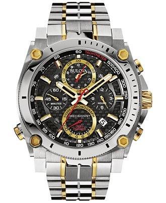 ad5f10c6efd Relógio Bulova 98b228 Precisionist Uhf 262 Misto Dourado - R  3.579 ...