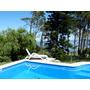 Punta Ballena:casa De 3 Ambientes - Frente Al Mar C/piscina
