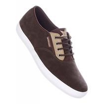 Zapatos Dekline Skate River Marron Mostaza Tallas 39-45