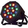 Foco Par 18 Led Alta Luminosidad Rgb Audioritmico, Dmx 18x1