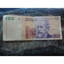 Argentina Billete De Cien Pesos Reposición. Del Pont Boudou