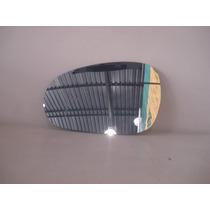 Lente Espelho Vidro C/base Do Retrovisor Palio 2012 Esquerdo