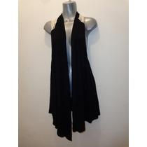 Blusa Negra Con Beig Talla: 1xl Modelo:1180