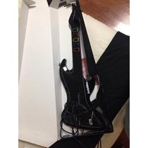 Guitarra Rock Star Level Up Ps2 200 Reais