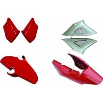 Kit Carenagen Completo Twister Vermelho 2008 Modelo Original