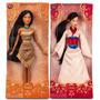 Disney Store Bonecas Mulan E Pocahontas