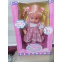 Muñeca Lovely Baby New Collection Importada Mamá Dada Giggle