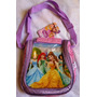 Minnie Princesas Lonchera Con Envases Escolar Original