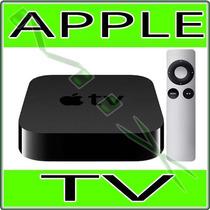Apple Tv Com Hd De 1080p 3ª Geração Md199bz/a - Novo Apple