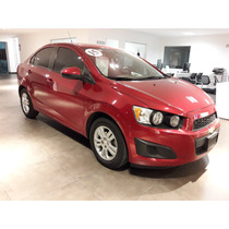 Chevrolet Sonic 4p Ltz Ta 2015 Rojo
