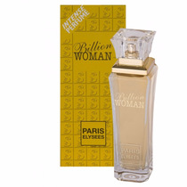 Perfume Billion Woman Feminino 100ml Paris Elysees