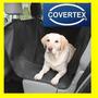 Funda Auto Asiento Perro Mascota Tapizado Tela Fuerte Imper.
