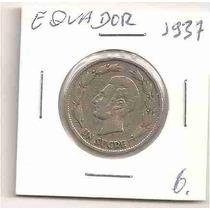 Ml-0108 - Moeda Do Equador - 1937 - Mbc