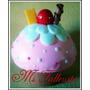 Porta Dijes Cupcakes Ideal Cumpleaños 15 Y Casamientos