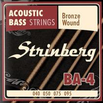Encordoamento Baixolão 4 Cordas Baixo Acustico Strinberg