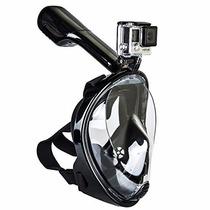 Snorkel Easybreath Con Adaptador Para Gopro Sj4000 Mascara