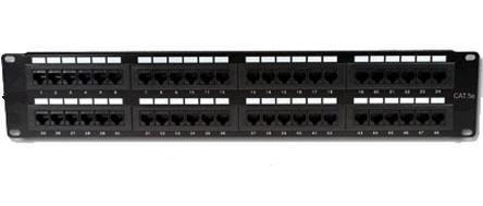 Patch panel vcom cat6 de 48 puertos bs en - Patch panel de 24 puertos ...