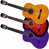 Guitarra Criolla Zurdo Funda Curso Afinador Pua Fender