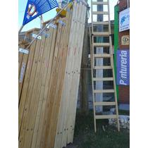Escalera Pintor Reforzada 12 Escalones Altura 3,55 Mts