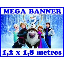 Painel Decorativo Festa Infantil Lona Banner 1,20x1,80 Metro
